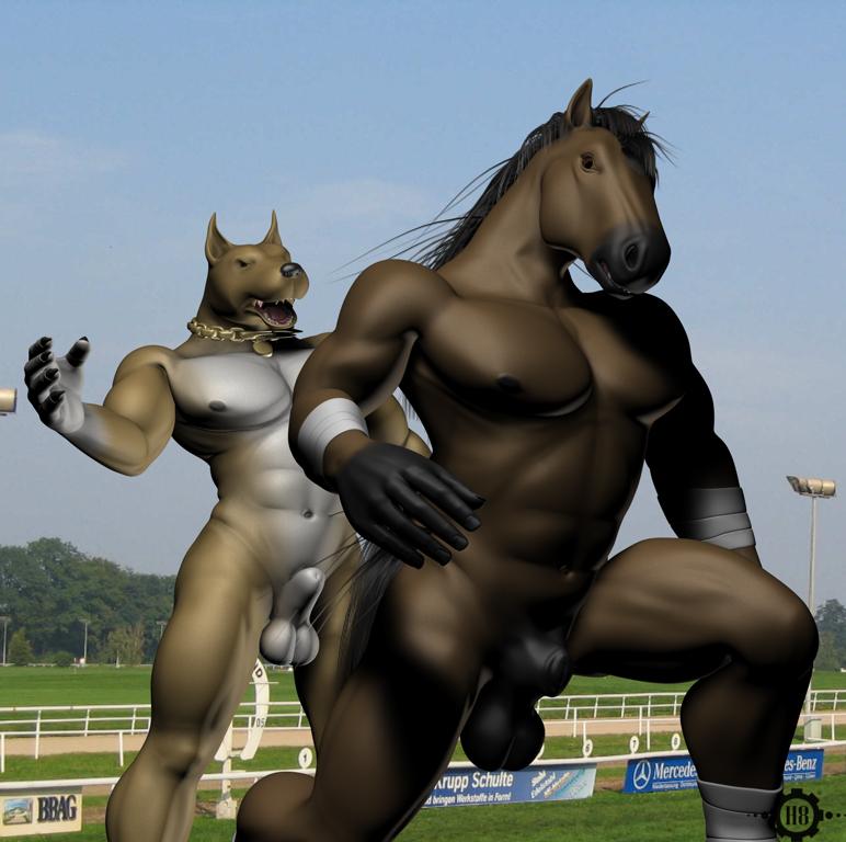 gif mating with human horse Maid san to boin damashii the animation