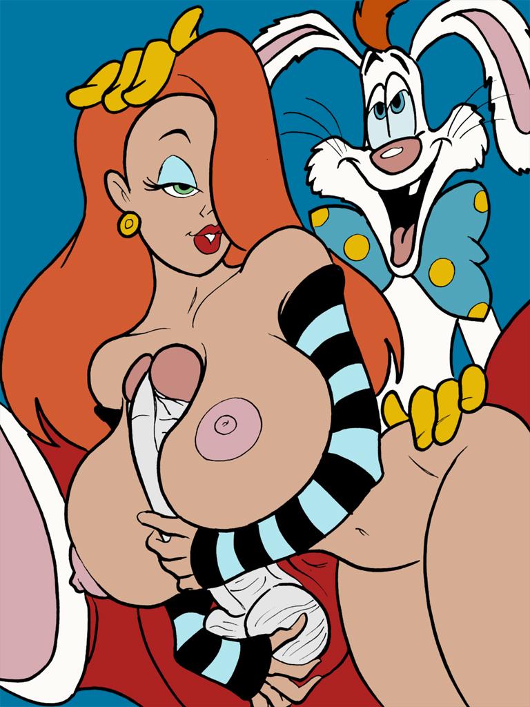 rabbit and jessica porn rabbit roger Dungeon ni deai o motomeru no wa machigatte iru darou ka