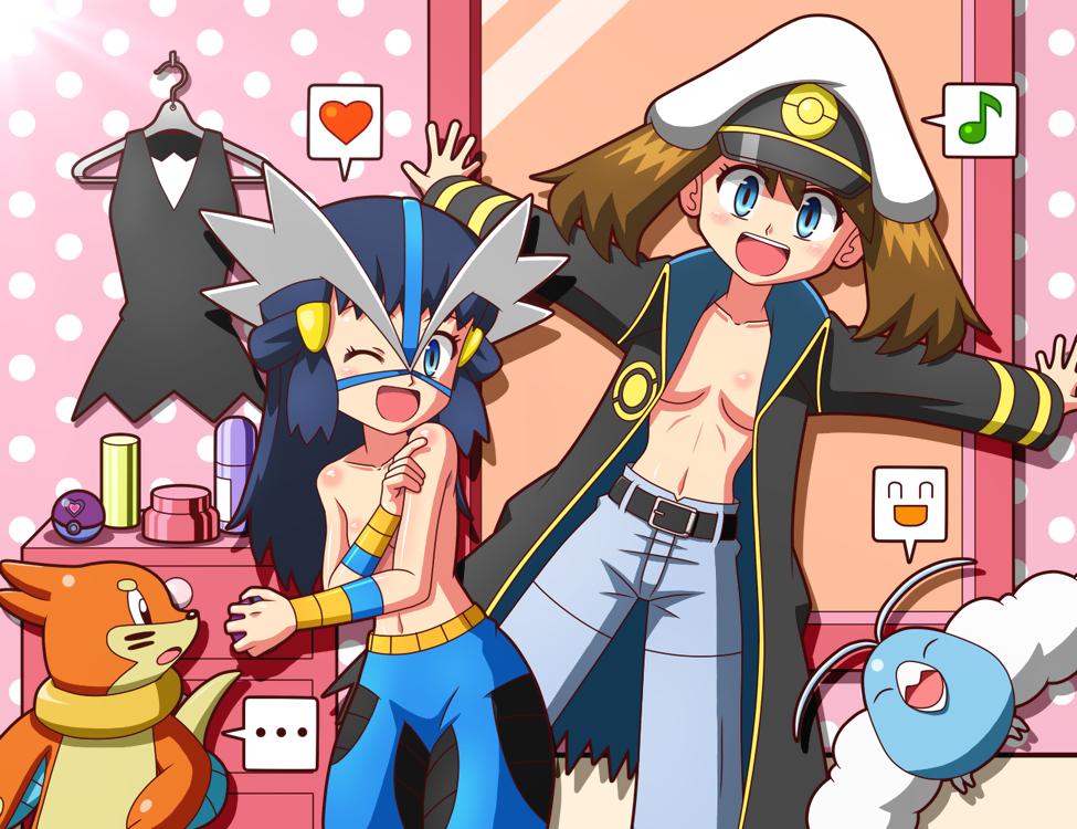 doe's pokemon research dr. Dragon ball z krillin and 18