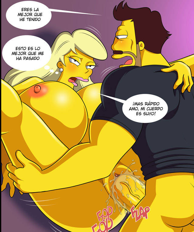 naked the marge simpsons from Doki_doki_literature_club