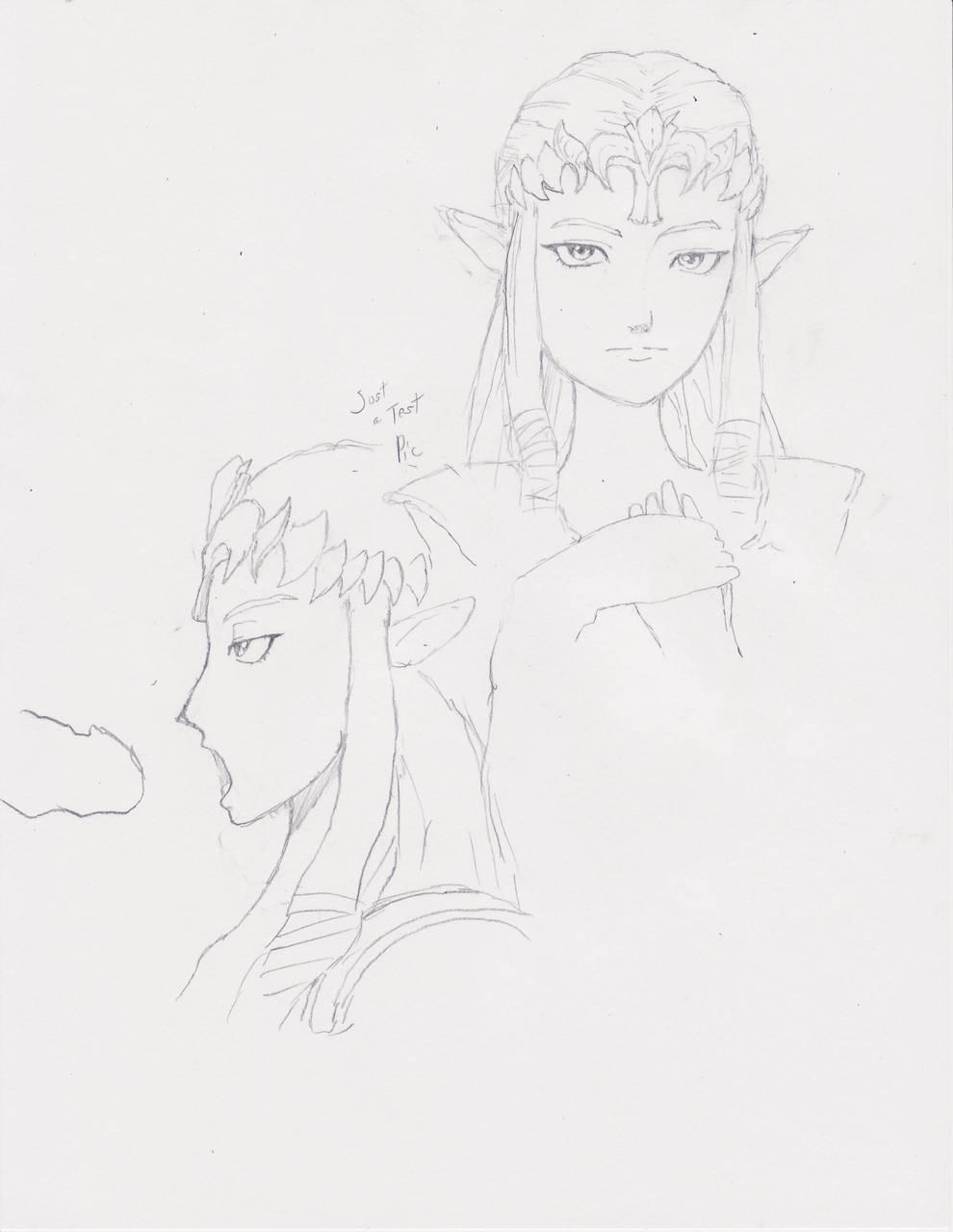 twilight princess of zelda agitha legend Tate no yuusha