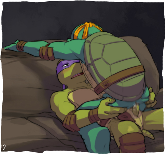 of donatello ninja picture turtle Guy cums in dogs mouth