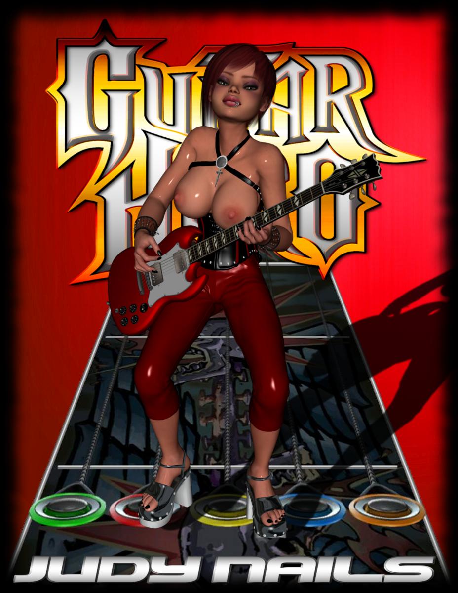 guitar judy 3 nails hero Peach and mario having sex