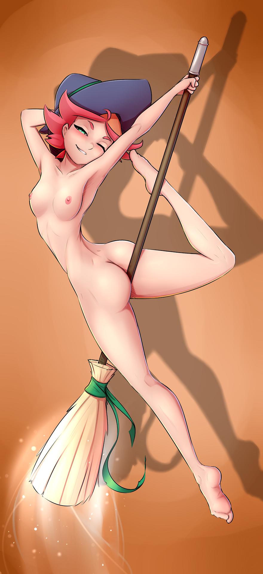 little the witch wendy good Youkoso-sukebe-elf-no-mori-e