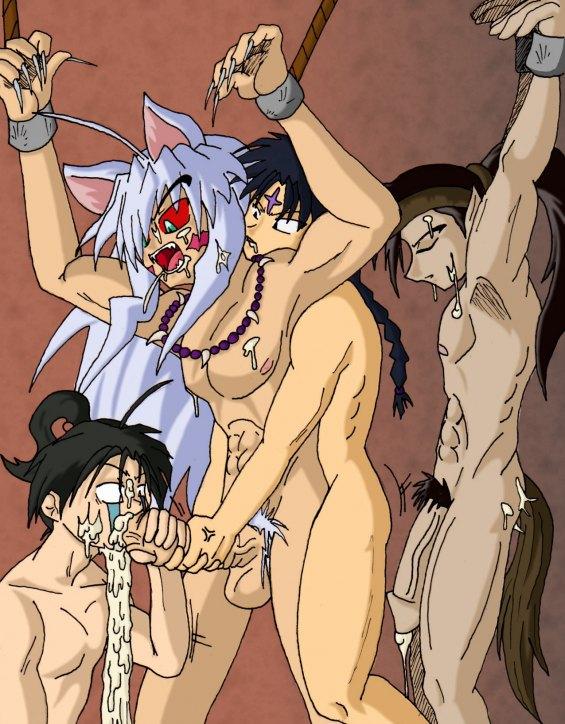 in boy-yaoi their boys underwear anime Musaigen no phantom world xxx