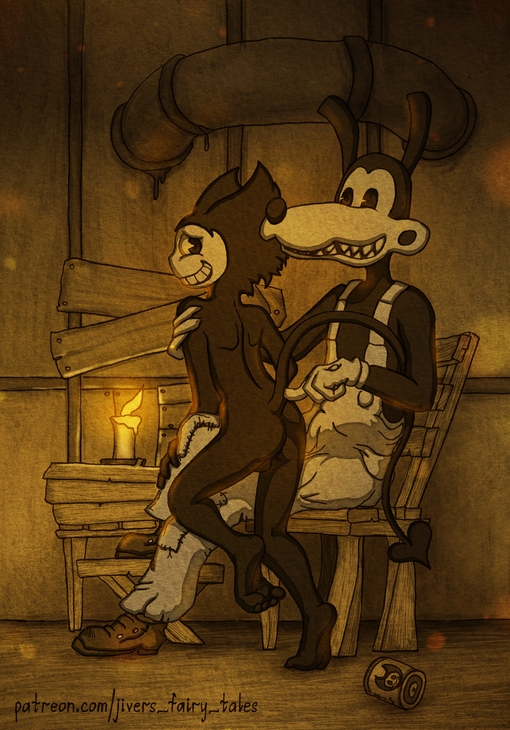 porn and bendy the ink alice machine Sunflower conker's bad fur day