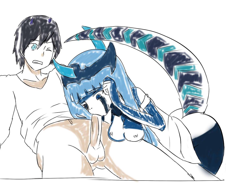 frankxx in darling the hiro Sora yori mo tooi basho