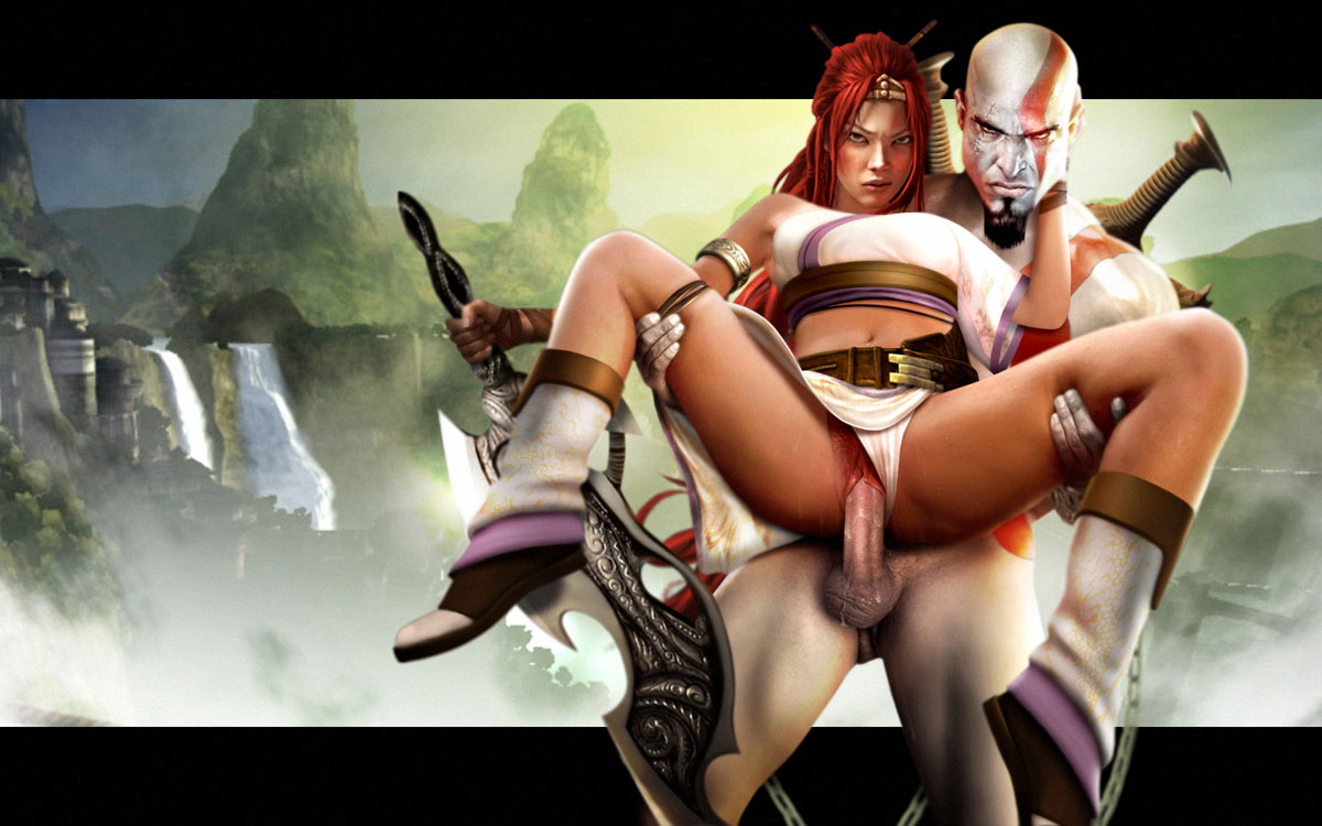 god of war What the hell are you doing here teacher hentai