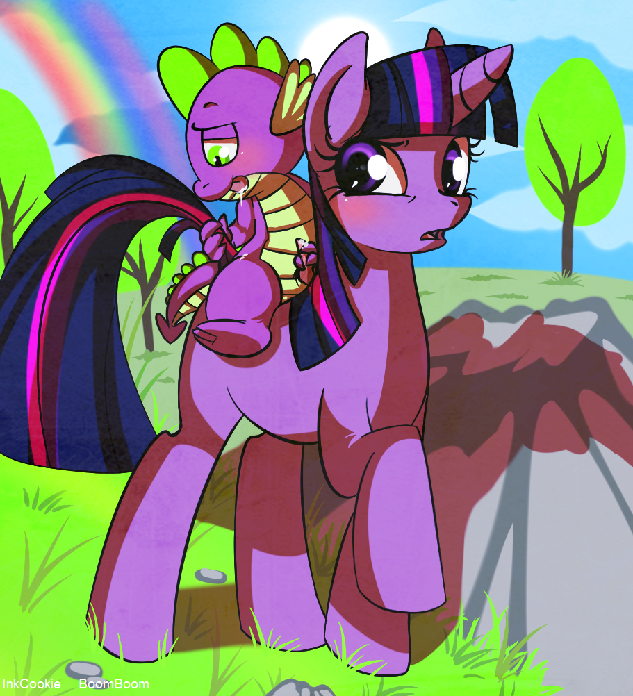 pony friendship spike is my tlckle magic little The_developing_adventures_of_golden_girl