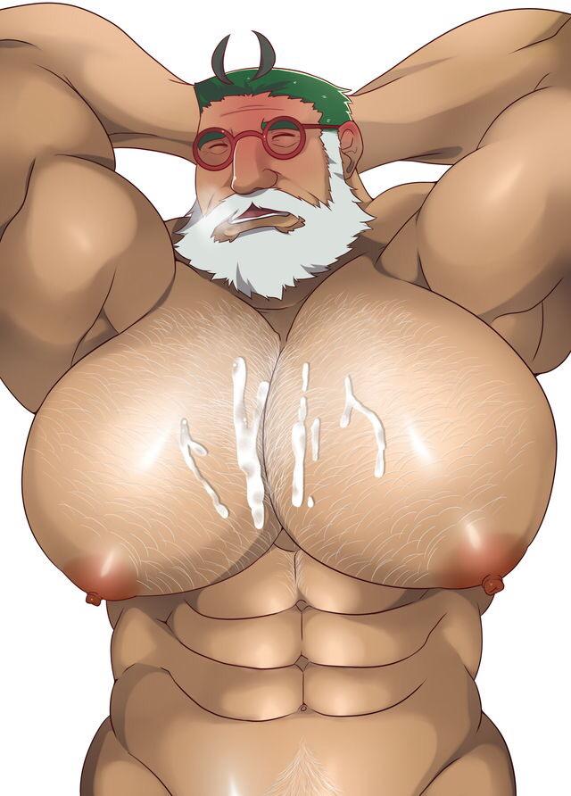 do men have nipple holes Hei darker than black full body