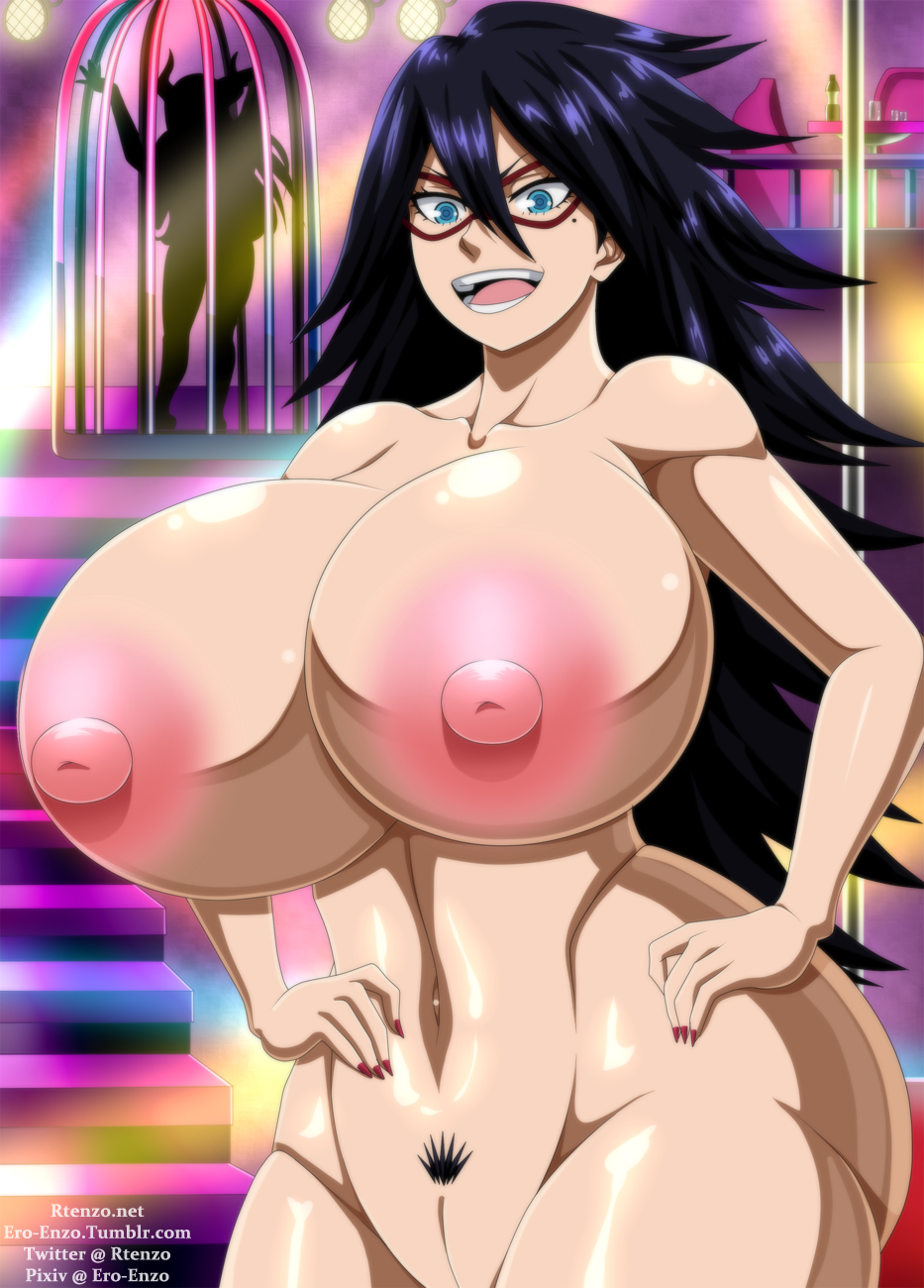 my mina hero nude academia Sunoharasou no kanrinin san temporada