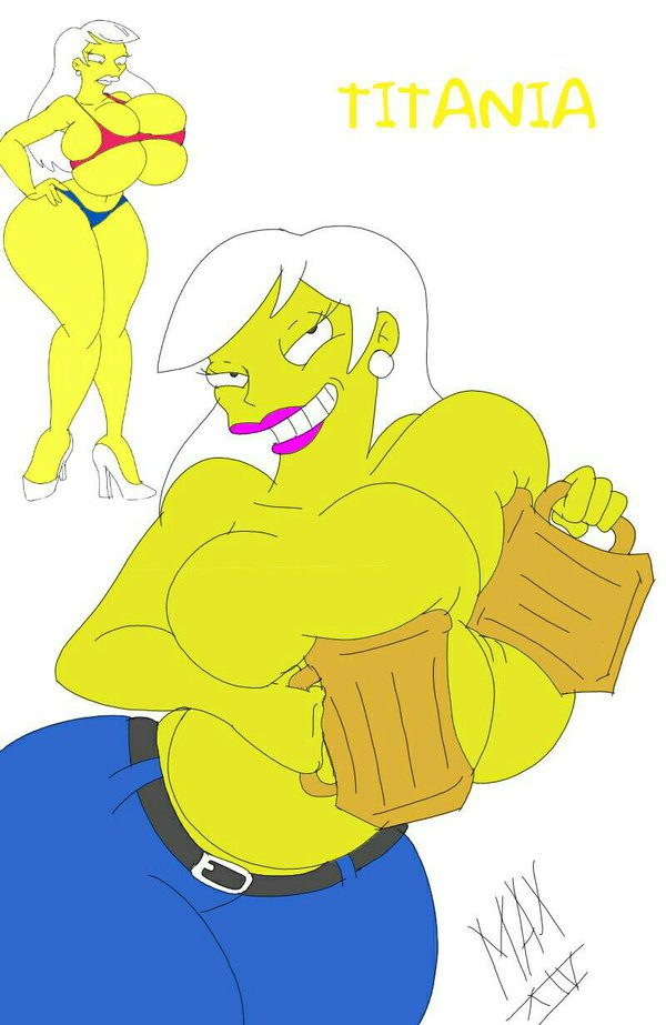 simpsons marge from naked the Gadget chip and dale