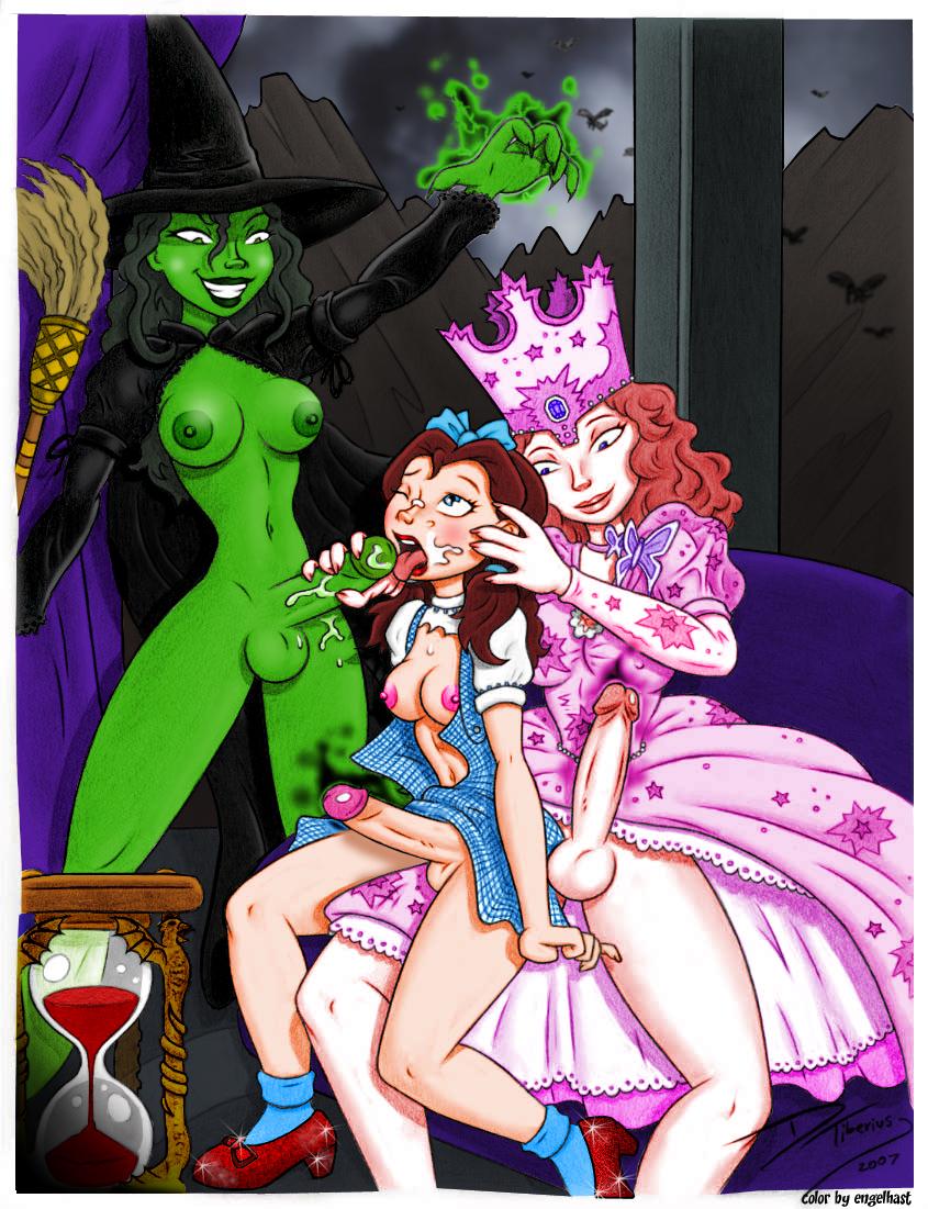 of porn cartoon wizard oz Boku wa isekai de fuyo mahou to shoukan mahou wo tenbin ni kakeru