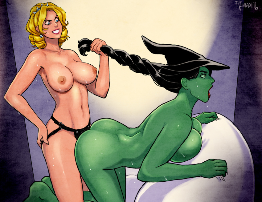 oz porn of cartoon wizard Felix the cat felix the trap