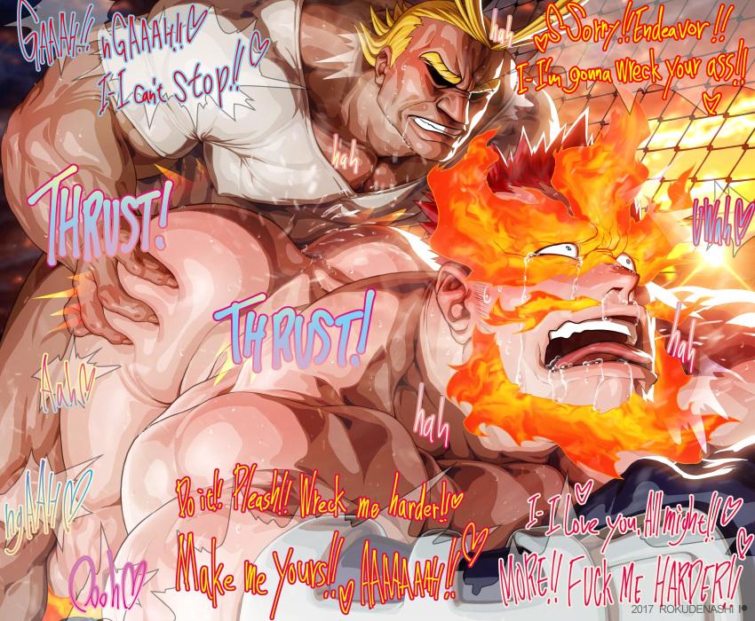 hero academia my sex yaoi Kanojo wa dare to demo