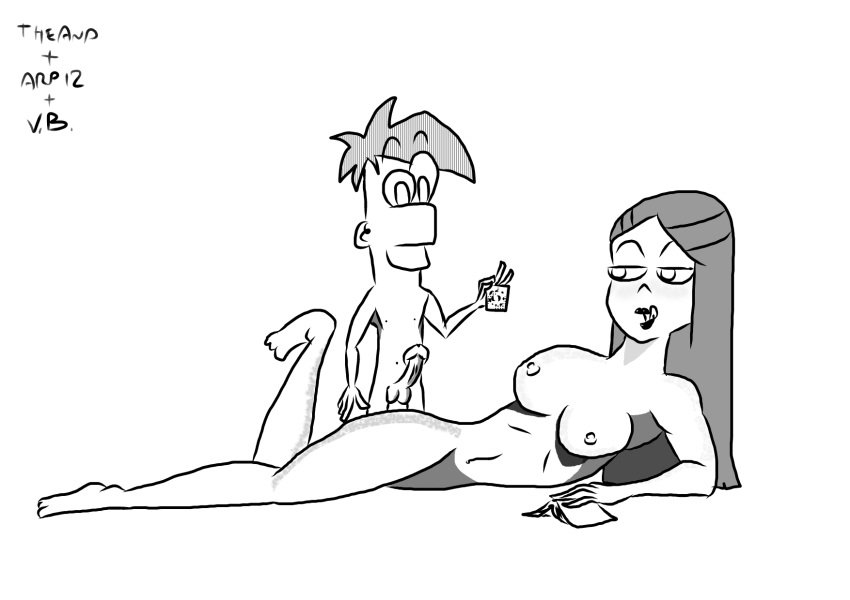 phineas parody porn ferb and Witch from clash of clans