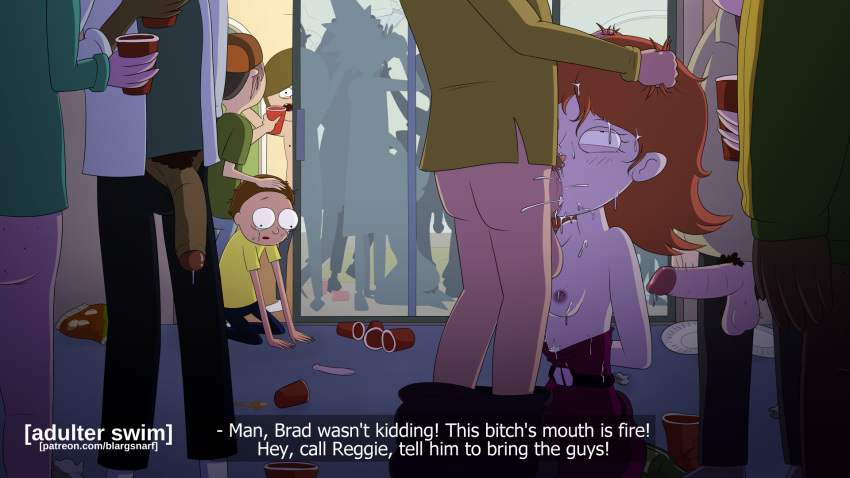 way morty a rick back and Mario how dare you disturb my family vacation
