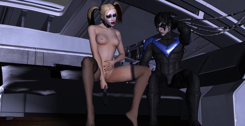 quinn harley nightwing porn x Yuragi sou no yuuna san seiyuu
