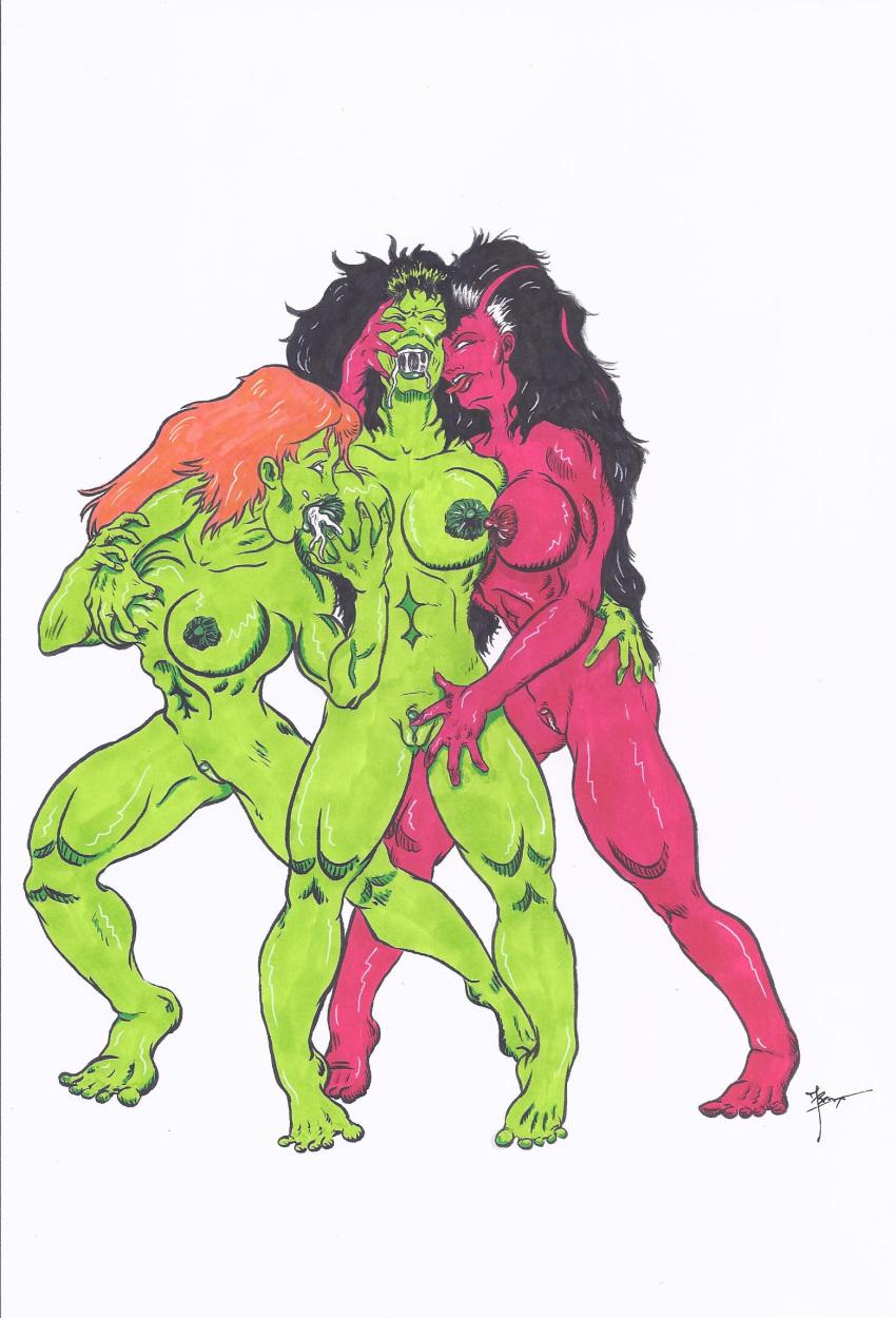 red hulk vs hulk she Transformers cybertron lori and coby
