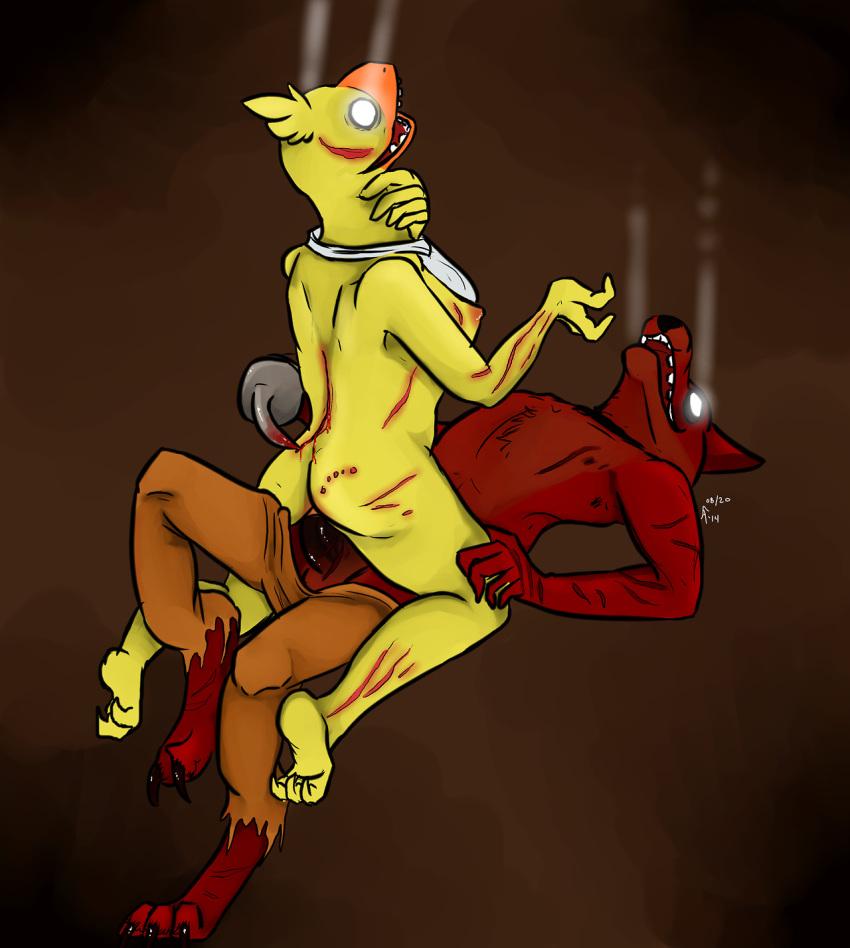 five nights foxy chica freddy's at and Minamoto no yorimitsu grand order