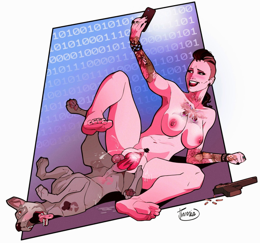 dogs tattoos wrench watch 2 Assassin's creed unity elise nude