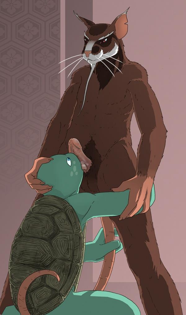 teenage ninja turtles mutant squirrelanoids Ero manga! h mo manga mo step-up cg