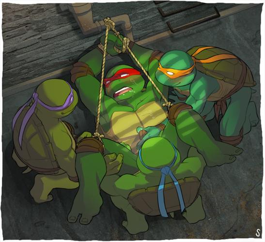 ninja teenage turtles mutant squirrelanoids Trials in tainted space scenes