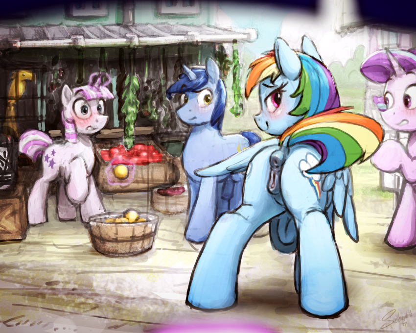 mlp soarin rainbow dash and Coming out on top all scenes