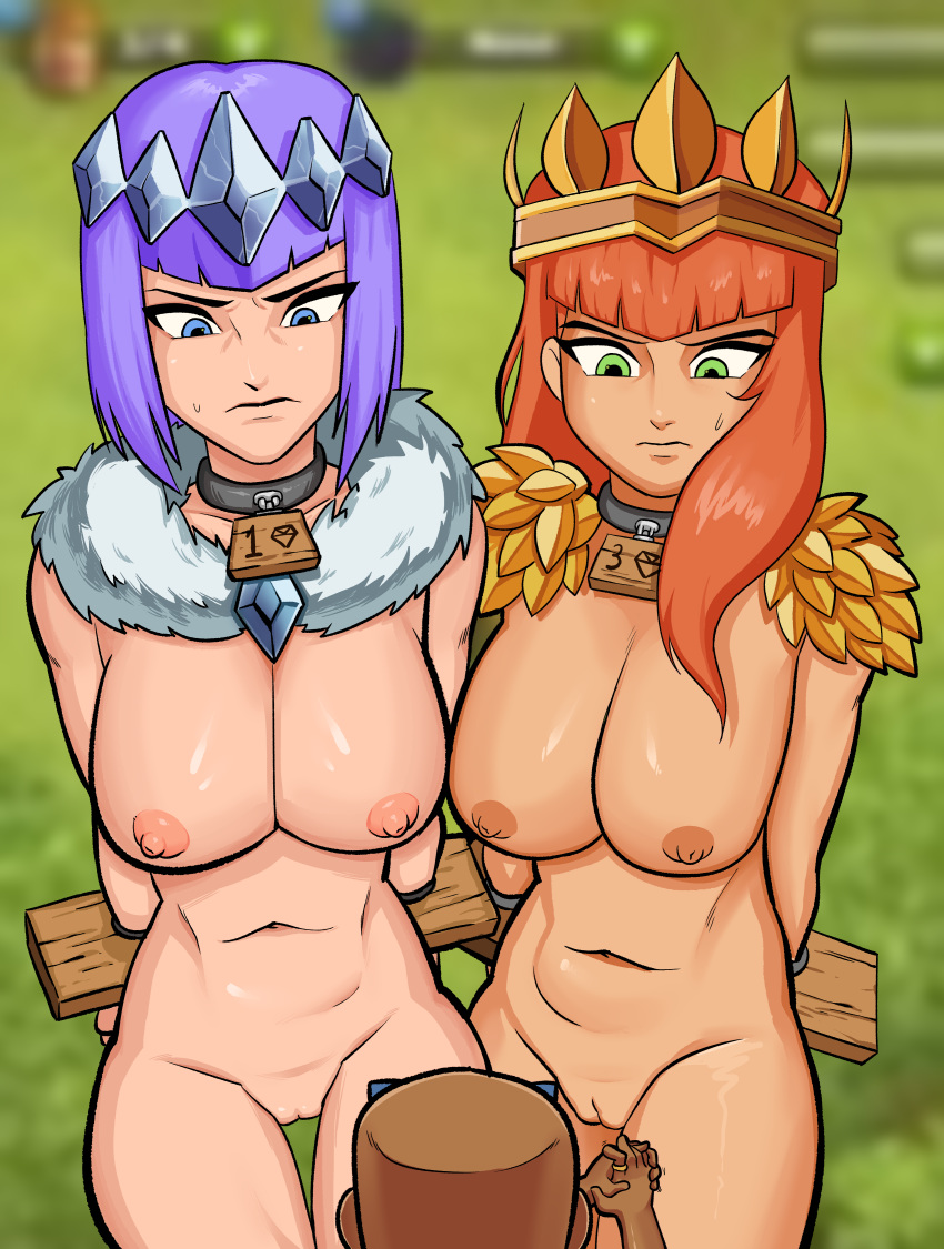 clans nude war vikings of Attack on titan girl characters